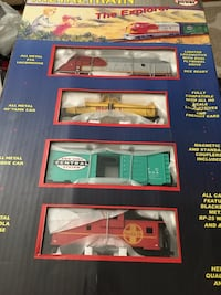 Metal train set no#800 ho scale metalset modelpower