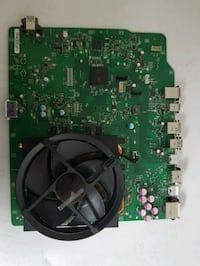 Original Xbox One motherboard with heat sync