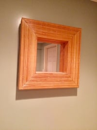 Bamboo Square Mirror Pristine Condition Waltham, 02451