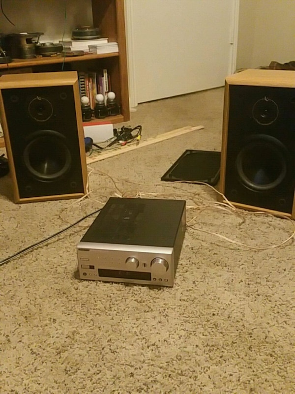 Mint Infinity RS225 speakers and Onkyo R-805X
