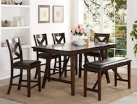 Vernon Counter Height Dining Set South Houston