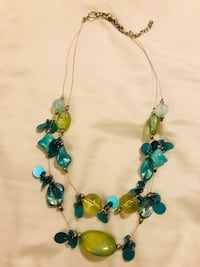 Green and Blue Necklace San Antonio, 78023