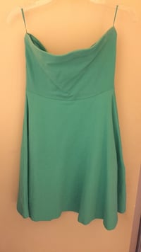 XS mint green strapless dress from Express Edmonton, T5Y 1M3