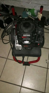 black and red Craftsman pressure washer Albuquerque, 87107