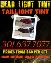Taillight and Head light Tint Laurel