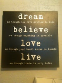 quote print wall decor Kelowna, V1Y