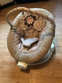 baby's brown and white bouncer seat Norfolk, 23503