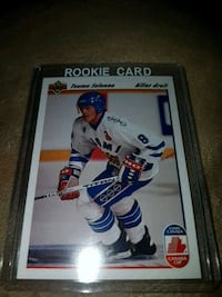 Upper deck teemo selanne rookie card