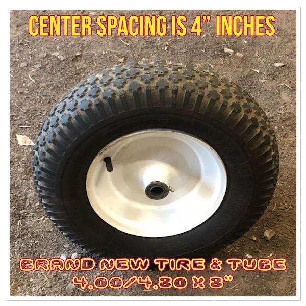 Used Brand New Tire Tube 4 80 4 00x8 4 Inch Center Wheel
