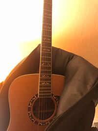 Brown and black dreadnought acoustic guitar Fremont, 94536