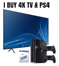 i will buy your tv and ps4 pro Toronto
