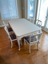 French Provincial Dining Table & 6 Chairs  Edmonton, T5M 1C2