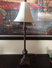 Black and white table lamp Toronto, M4S