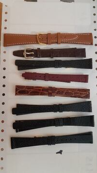 Leather watch band Oakville