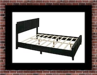 Queen bed platform bed with mattress Herndon, 20171