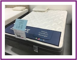 Full size Plush Mattress Set, Brand New in plastic