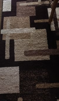 Brown and black area rug Bel Air, 21015
