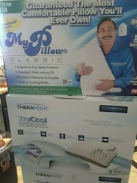 My pillow , Therapedic trucool pillows Dallas, 75241