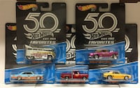 Hot Wheels 50th Favorites Set of 5 Camaro Volkswag Oklahoma City