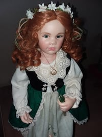 Porcelain Irish doll  Bristol