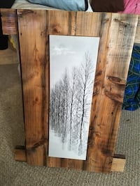 Rustic barn wood picture frame Leduc, T9E 5R6