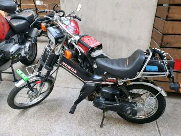 Used Vintage 1982 Honda Urban Express Moped For Sale In Dallas Letgo