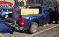 Local moving hauling goods service only man with truck local hauling tell the job first ! New York