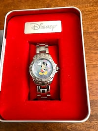 Disney Mickey Mouse Stainless Steel Watch With Affinity Diamonds OBO Spring Hill, 34608
