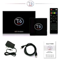 TV BOX T6 ANDROİD 7.1 Ankara
