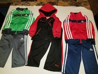 Adidas and puma track suits ((2t)) Midland, 79707
