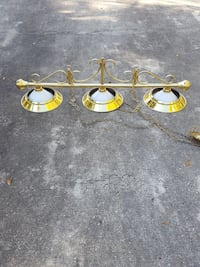 brass 3-light track lights Mount Dora, 32757