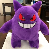 "New Large 12"" Tall Pokemon Character GENGAR Plush Stuffed Toy   Visalia, 93292"