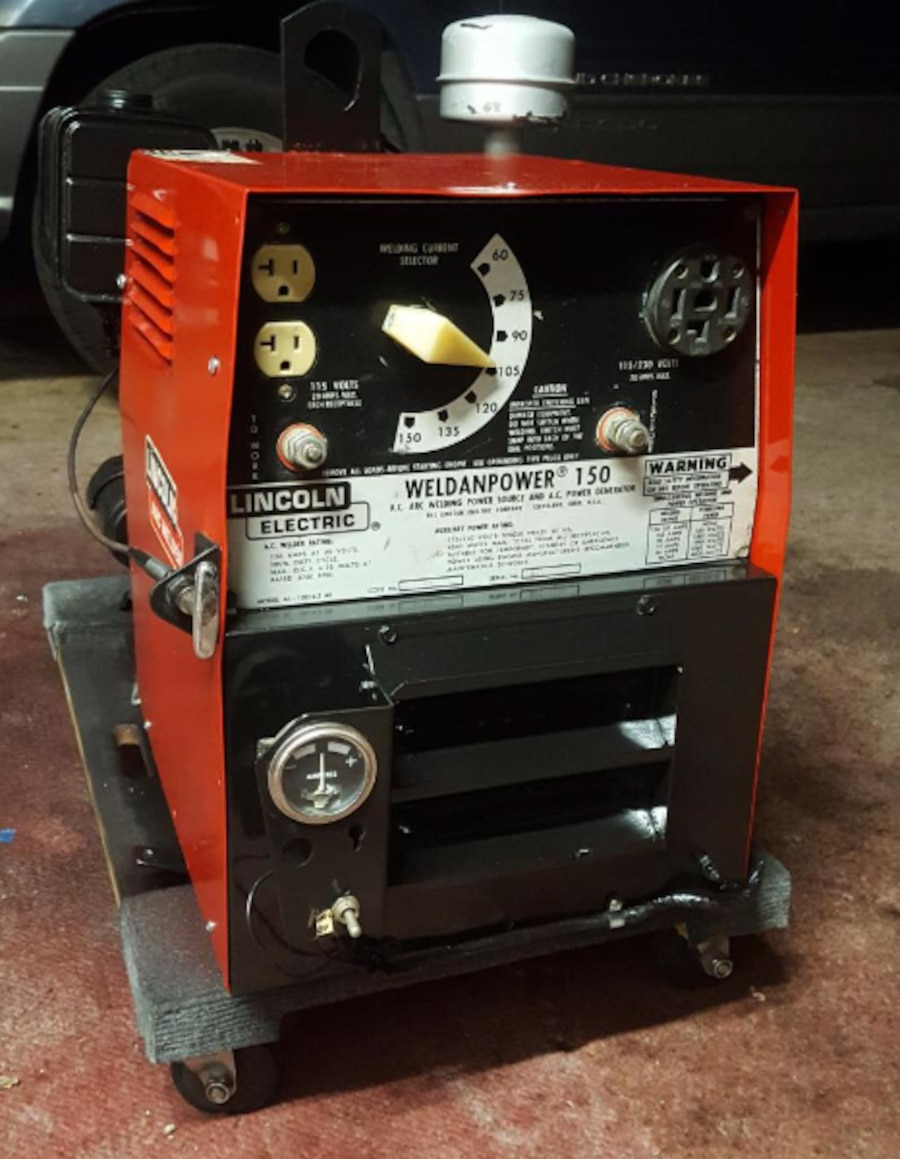 Used Lincoln Arc Stick Welder With Kohler Generator In Los Alamitos More Info