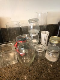 clear glass mason jar lot Acton, 93510