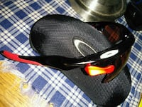 Oakley's track jacket red with 3 lens  Barrie, L4N 2J2