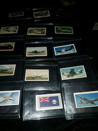 Planes ships collectible Tea and food cards Kitchener, N2P 1R7