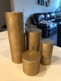 Gold decorative candles  Los Angeles, 90094