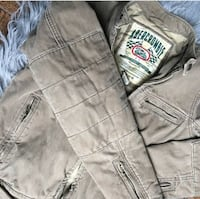Abercrombie and Fitch Denim motorcycle jacket Alexandria