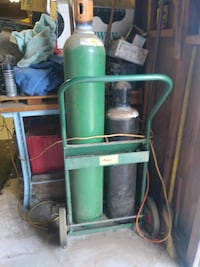 Oxygen and settling tanks with cart Hesperia, 92345