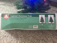 Starlite Lighted Christmas Tree (Multi Color Lights) 2 Foot Battery Operated - PICKUP in Aiea across old Toys r Us - looks better than in the pictures because of the glare. Cute to put on your desk at work. Aiea, 96701