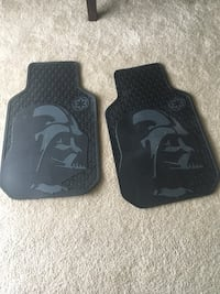 two black Darth Vader car mats Marlton, 08053