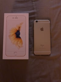 gold iPhone 6s with box Waterloo, N2J 3C1