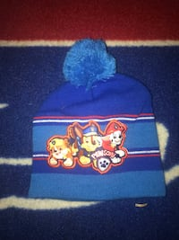 blue and yellow Mickey Mouse knit cap 39 km