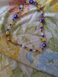 blue, red, and green beaded necklace Worcester, 01606