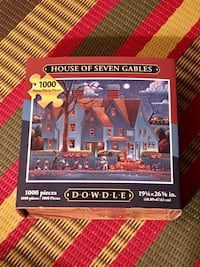 Brand new Dowdle House of Seven Gables jigsaw puzzle