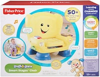 Fisher Price Laugh & Learn Smart Stages Chair Toronto, M1M 2Z2