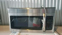 stainless steel microwave oven; black microwave oven Temple Hills, 20748