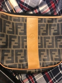 Lv suitcase old and findi handbag new