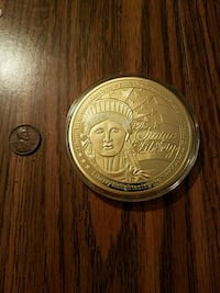 Statue of Liberty Large Commemorative coin  Inwood, 25428