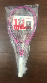 Pink wilson tennis racket with pack Ashburn, 20147